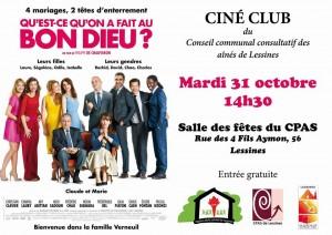 Ciné club – 31 octobre 14 h 30