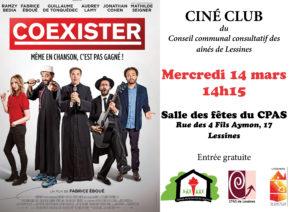 Ciné club – 14 mars 14 h 15