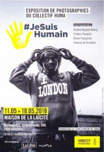 Exposition #JeSuisHumain – Du 11 au 18 mai