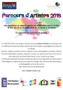 Parcours d'artiste 2018