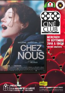 Ciné club – 19 septembre 19 h 30