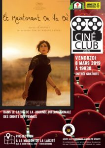 Ciné club – 8 mars – 19 h 30