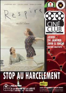 Ciné club – 24 janvier – 19 h 30