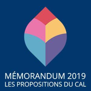 Memorandum – CAL 2019