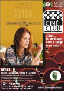 Ciné club – 19 septembre – 19 h 30