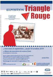 Exposition Triangle Rouge – du 25 septembre au 10 octobre