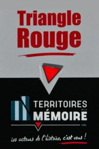 Pin's Triangle Rouge