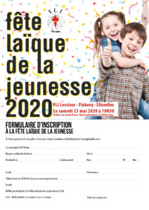 Lessines FJL – Inscription