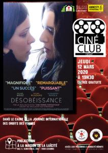 Ciné club – 12 mars – 19 h 30