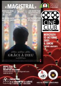 Ciné-club – 13 octobre – 19 h 30