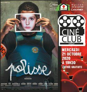 Ciné-club – 21 octobre – 19 h 30